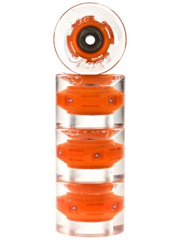 Sunset Skateboards Orange 59mm Conical Cruiser Wielen