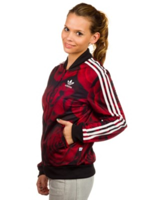 adidas red rose jacket