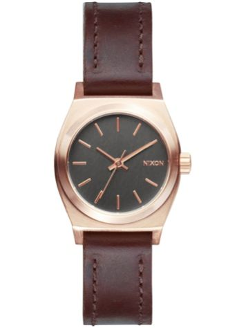 Nixon The Small Time Teller Leather Uhr