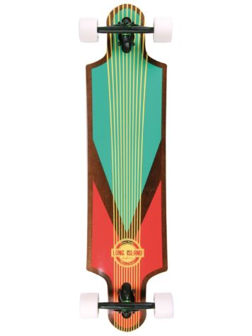 "Long Island Longboards Stam 9.6"" x 40.2"" Completo"