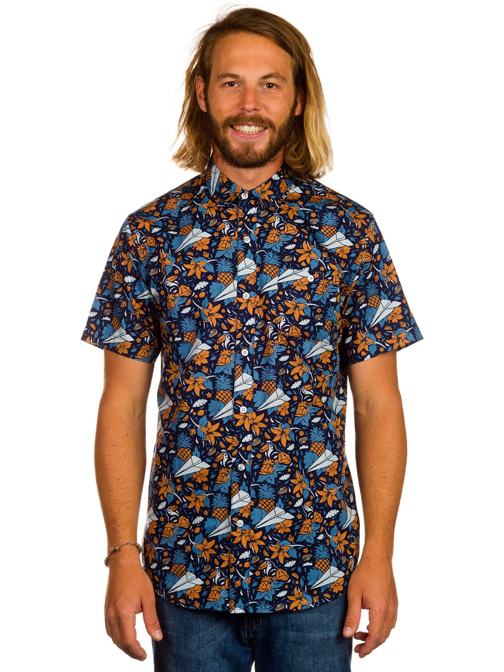 Buy benny gold aloha chambray button down shirt online at for Where to buy button down shirts