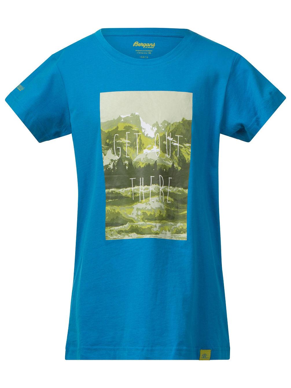 bergans nature t shirt jungen online kaufen bei blue. Black Bedroom Furniture Sets. Home Design Ideas