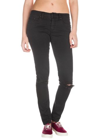 Rip Curl Pins Distressed Black Jeans