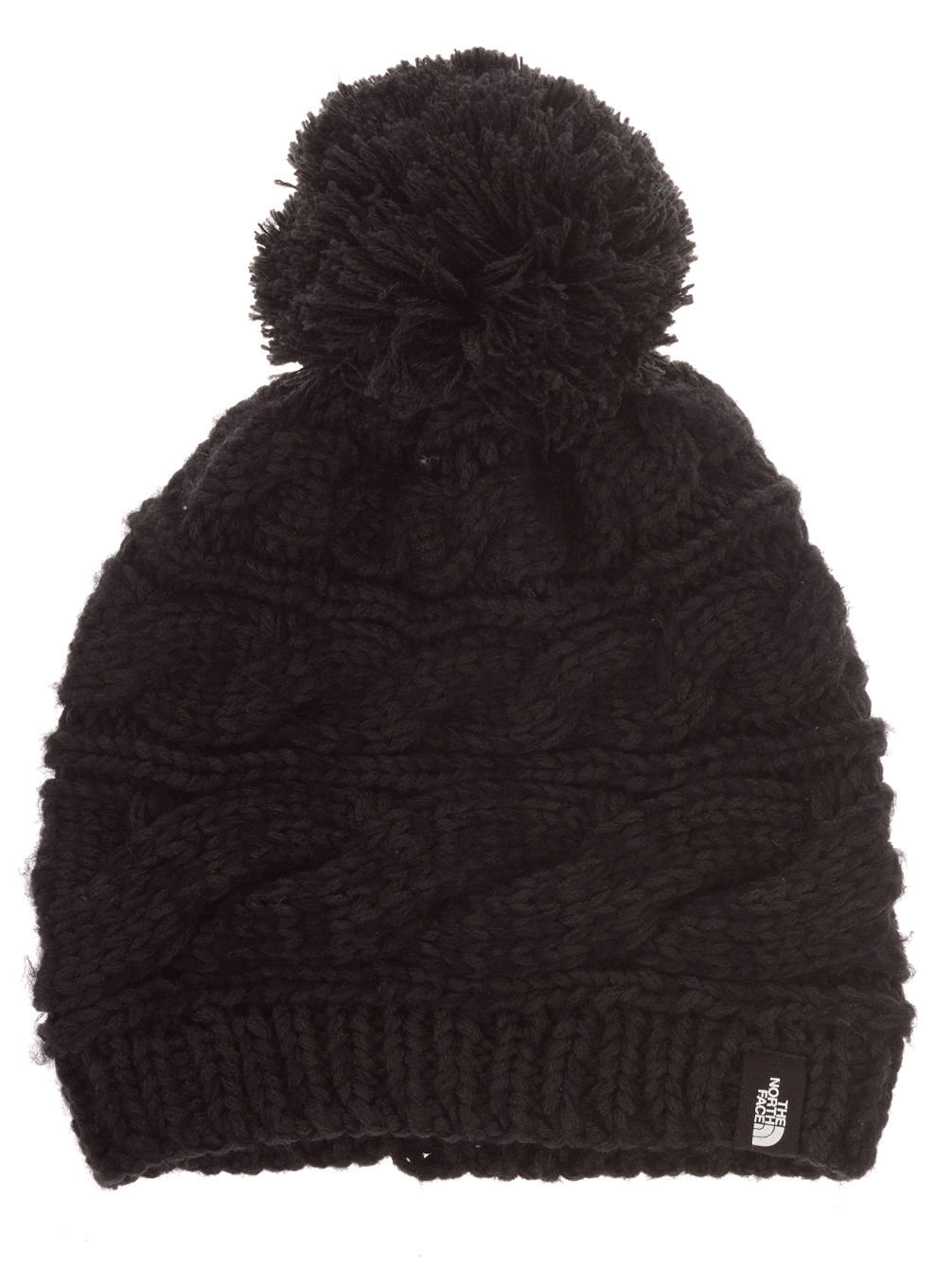 the north face triple cable pom beanie online kaufen bei. Black Bedroom Furniture Sets. Home Design Ideas
