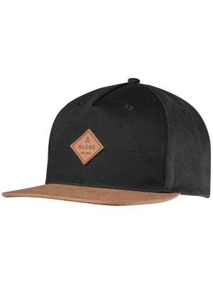 Globe Gladstone Snap Back Cap black Gr. Uni