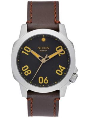 Nixon The Ranger 40 Leather black / brown Gr. Uni