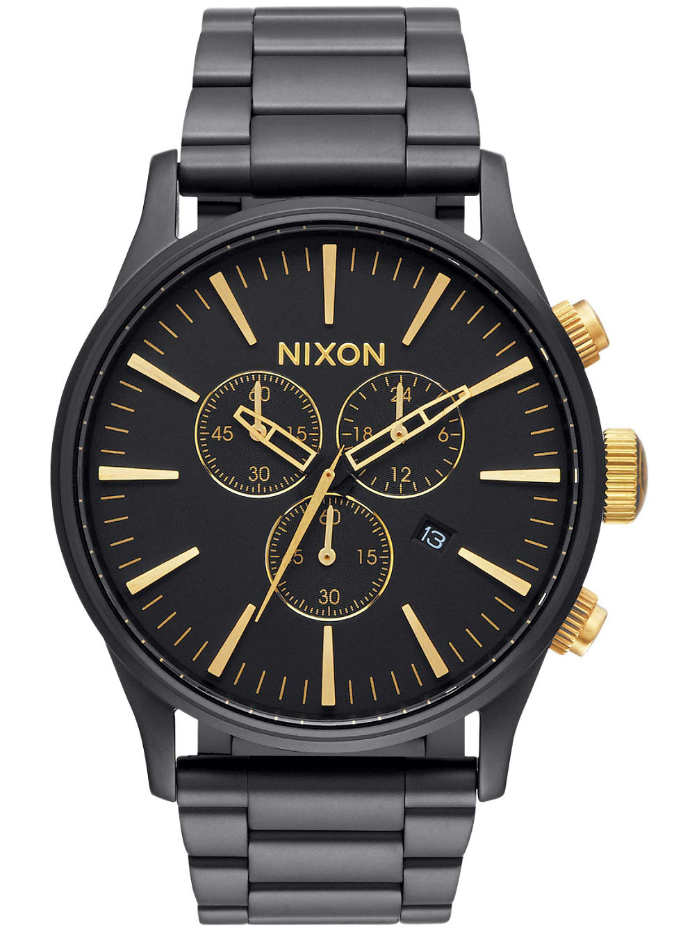 nixon the sentry chrono uhr online kaufen bei blue. Black Bedroom Furniture Sets. Home Design Ideas