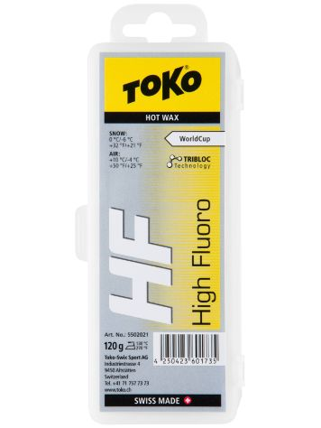 Toko Hf Hot Yellow 120g Wachs