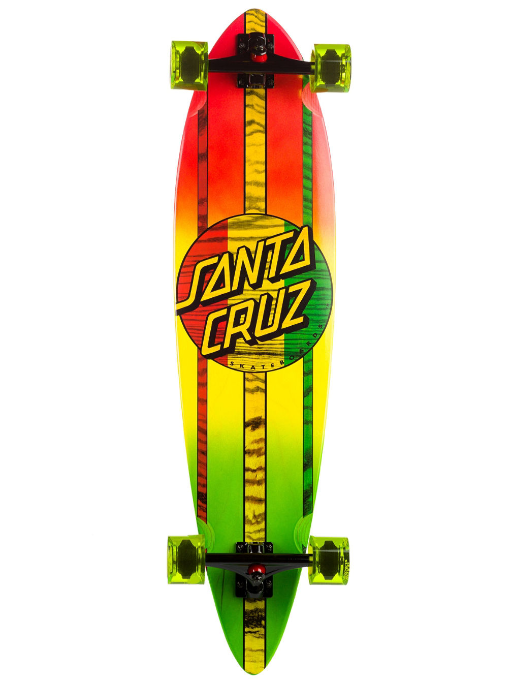 santa cruz pintail mahaka rasta fade 9 5 longboard online. Black Bedroom Furniture Sets. Home Design Ideas