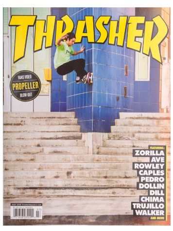 Thrasher Trasher Issue 2015 July