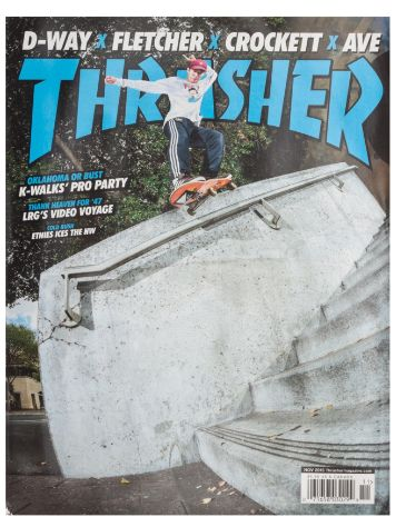 Thrasher Trasher Issue 2015 November