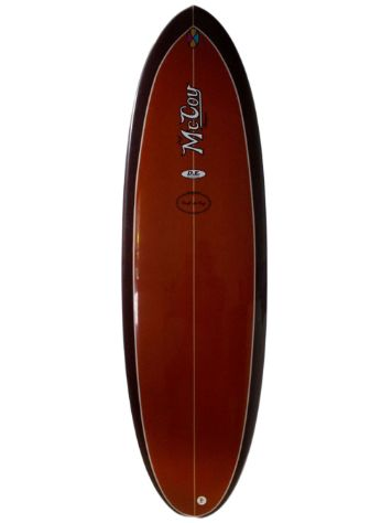 McCoy Double Ender 5.11 XF brown Surfboard