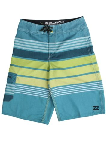 "Billabong All Day Stri. 15"" Boardshorts Jungen"