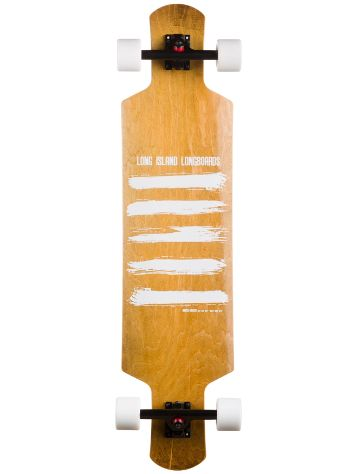 "Long Island Longboards Brush 9.7"" x 40.4"" Completo"