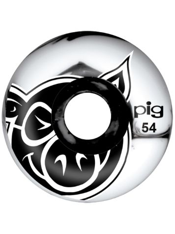 Pig Wheels Pig Head Swirl 101A 54mm Wheels