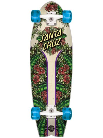 "Santa Cruz Island Dot Land Shark 8.8"" Cruiser Compl"