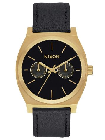 Nixon The Time Teller Deluxe Leather Uhr