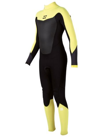 Billabong Absol. Comp 4/3 Back Zip Wetsuit Youth