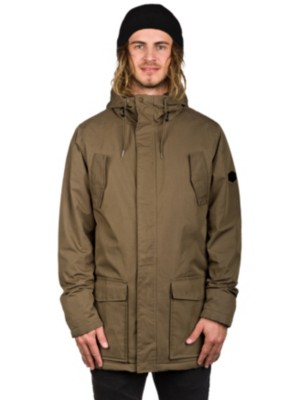 RVCA Ground Jacket dark khaki Gr. L