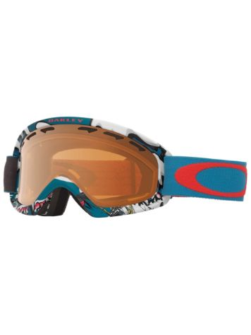 Oakley O2 Xs Shady Trees Blue Red Goggle