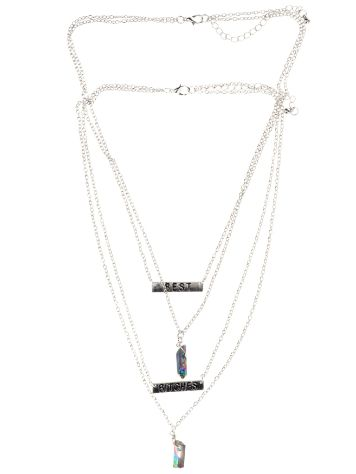 Stone and Locket Azul Stone BST Necklace