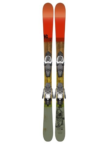 K2 Poacher Jr Fastrak2 7 139 2017  245-330 13 Conjunto freeski