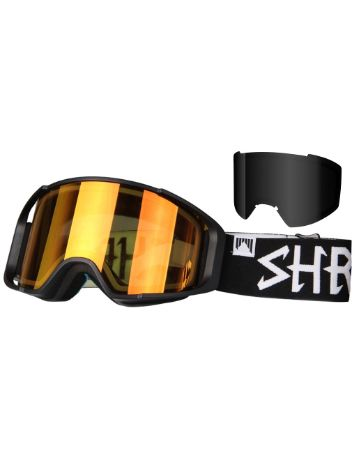 Shred Simplify Blackout + Bonus Lens Goggle