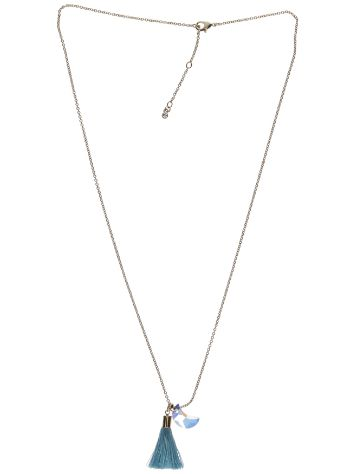 Blue Tomato BT Tassel Necklace with Swarovski Crystals