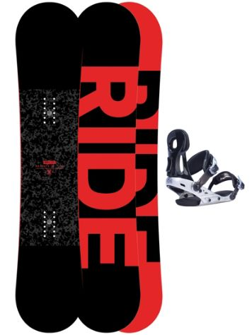 Ride Machete Jr 139 + Phenom M Blk 2017 Boys Snowboard Set