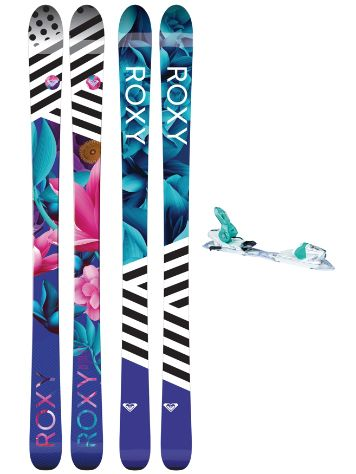 Roxy Dreamcatcher 85 162 + Xpress11 2017 Freeski-Set