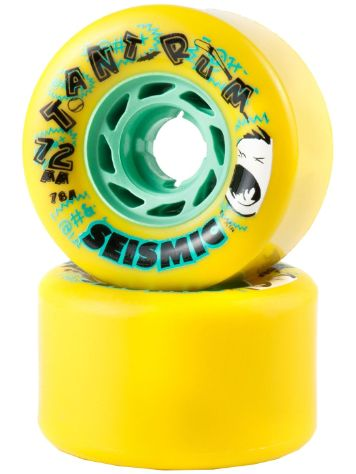 Seismic Tantrum 78A 72x45mm yellow Ruedas