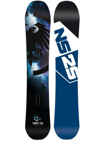 Never Summer Twenty Five X 166 2017 Snowboard