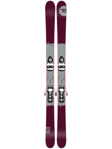 Rossignol Storm 170 + NX11 B93 Black/White 2017 Freeski-Set