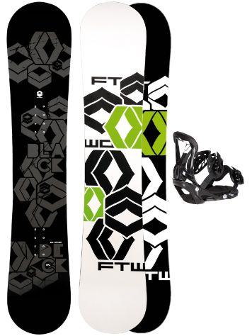 FTWO Blackdeck 150 + Sonic SMO M Blk 2017 Snowboard Set