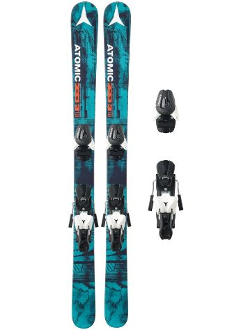Atomic PUNX JR III 140 + L7 Boys 2017 Conjunto freeski