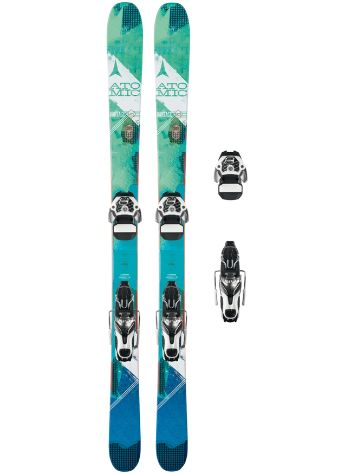 Atomic Vantage 95 C W 154 + Warden 11 2017 Freeski set