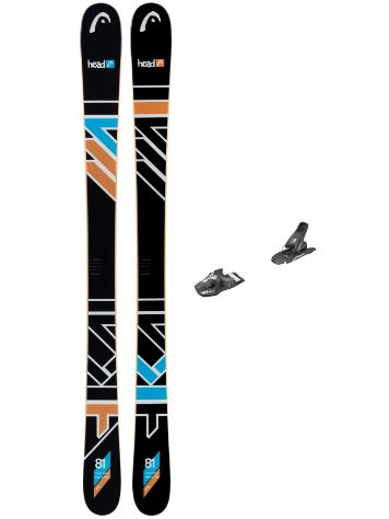 Head The Jr. Caddy 141 SW + SX 7.5 90mm 2017 Youth Freeski-Set