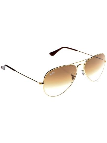 Ray Ban Aviator Large Metal Arista Shiny Gold Gradient Sonnenbrille