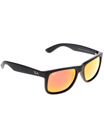 Ray Ban Justin Rubber Black