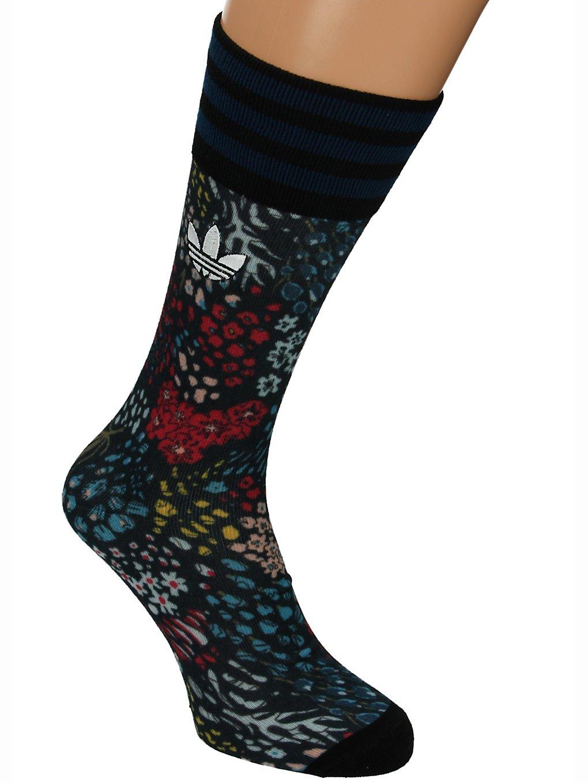 Image of adidas Originals Printed Flower Socks