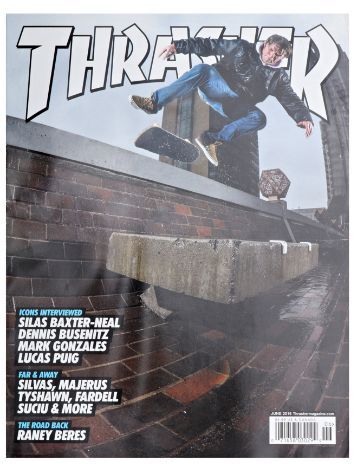 Thrasher Thrasher Issue 2016 June