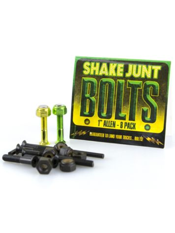 Shake Junt Green Yellow Inbus 1'' Bolts