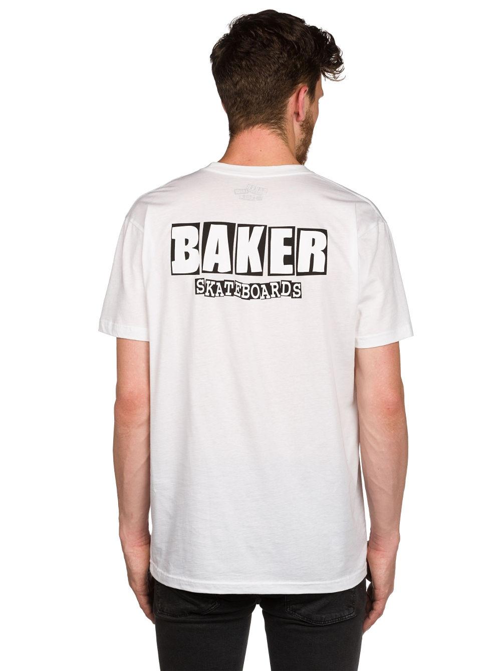 Achetez baker brand logo t shirt en ligne sur blue for T shirt brand logo