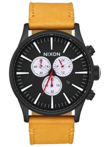 Nixon The Sentry Chrono Leather Uhr