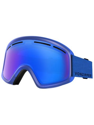 VonZipper Trike Mono Blue Youth Goggle