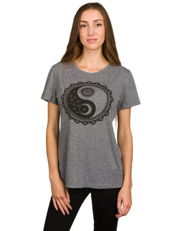 Empyre Girls Sun And Moon Yin Yang T-Shirt