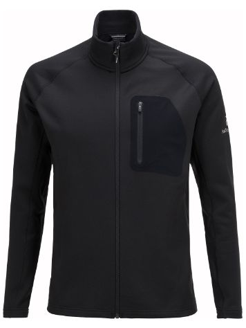 Peak Performance Black Light Mid Zip Fleecejacke