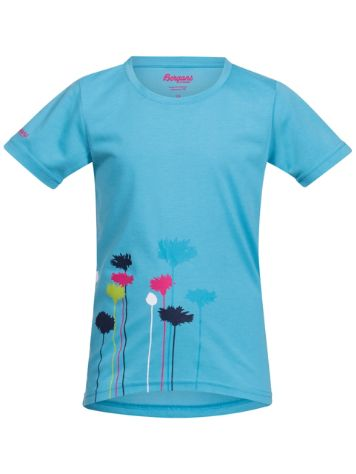 Bergans Flower T-Shirt Girls
