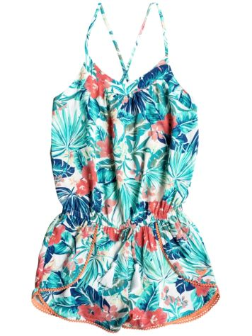Roxy Jungle Poem Woven Romper Girls