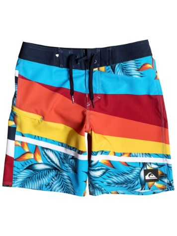 Quiksilver Slash Prints Vee 16 Boardshorts Boys